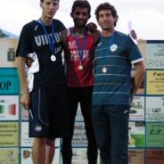 Matteo Baldi campione toscano assoluto di salto in alto