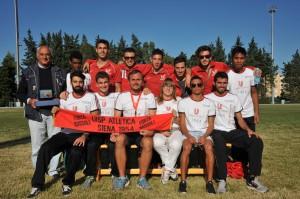Matera 2014 - la squadra dopo la premiazione finale