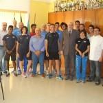 Chiappinelli e gli azzurrini ospiti del Console Generale di Rio de Janeiro