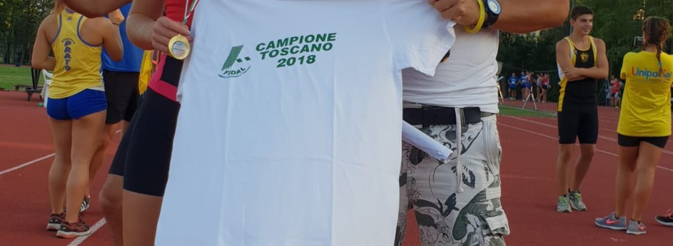 Giada Bernardi campionessa toscana dei 300m