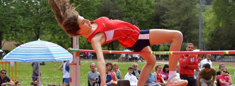 Elena Monciatti abbatte il record sociale nel salto in alto