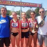 L'Uisp Atletica Siena terza ai Campionati Italiani di società di prove multiple Under 18
