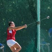 Giulia Giardi Campionessa Toscana Under 20 nel lancio del martello