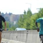 Yohanes e Maurizio in allenamento