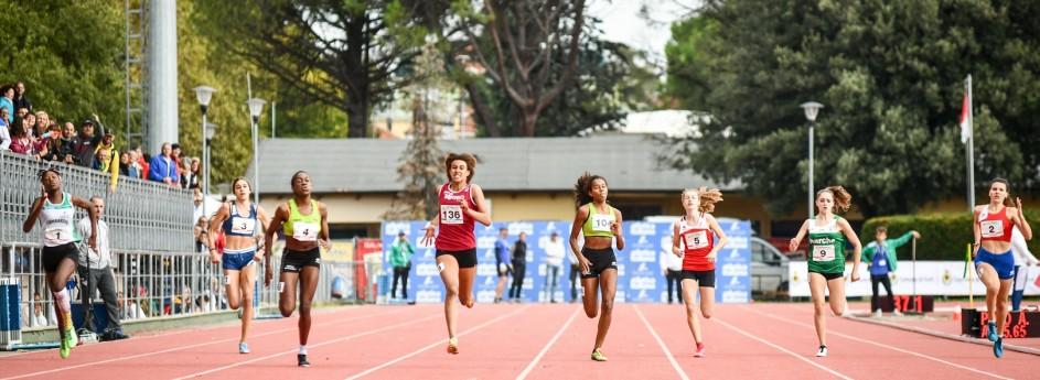Giada Bernardi quinta ai Campionati Italiani Cadetti