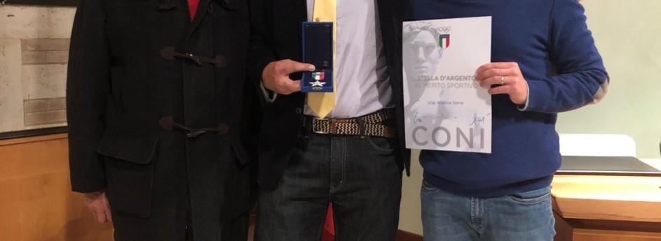 Stella d'argento al Merito Sportivo Coni per l'Uisp Atletica Siena