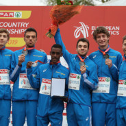 Yohanes Chiappinelli porta l'Italia under 23 all'argento agli Europei di cross
