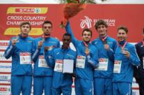 Yohanes Chiappinelli porta l'Italia under 23 all'argento agli Europei di cross