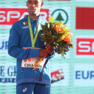 Yohanes Chiappinelli agli Europei di cross