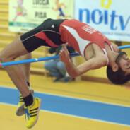 Matteo Baldi sale al top: 2.07 nell'alto