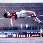 Paolo Galluzzi in azione nell'alto