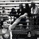Fabrizio Lachi in gara nel peso, anni 90