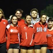 Chiappinelli e Renzi guidano l'Uisp Atletica Siena nella prima fase dei Societari