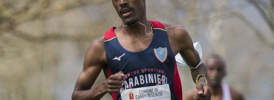 Yohanes Chiappinelli  argento ai Campionati Italiani dei 10 chilometri su strada
