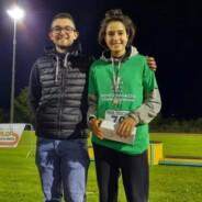 Finale Trofeo Nazionale delle Province  Ragazzi/e: secondo posto nel tetrathlon per Sveva Borghi